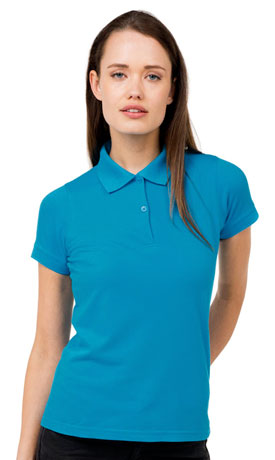 Poloshirt Damen bedrucken lassen bei georgefrank - Die T-Shirtdruckerei