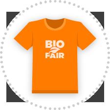 T-Shirts bedrucken, auch Bio und Fairwear