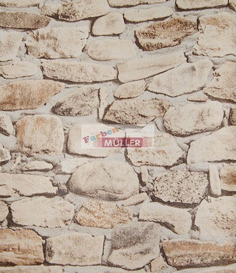 Deko steintapeten und holztapeten farben mueller annaburg for Steintapete braun