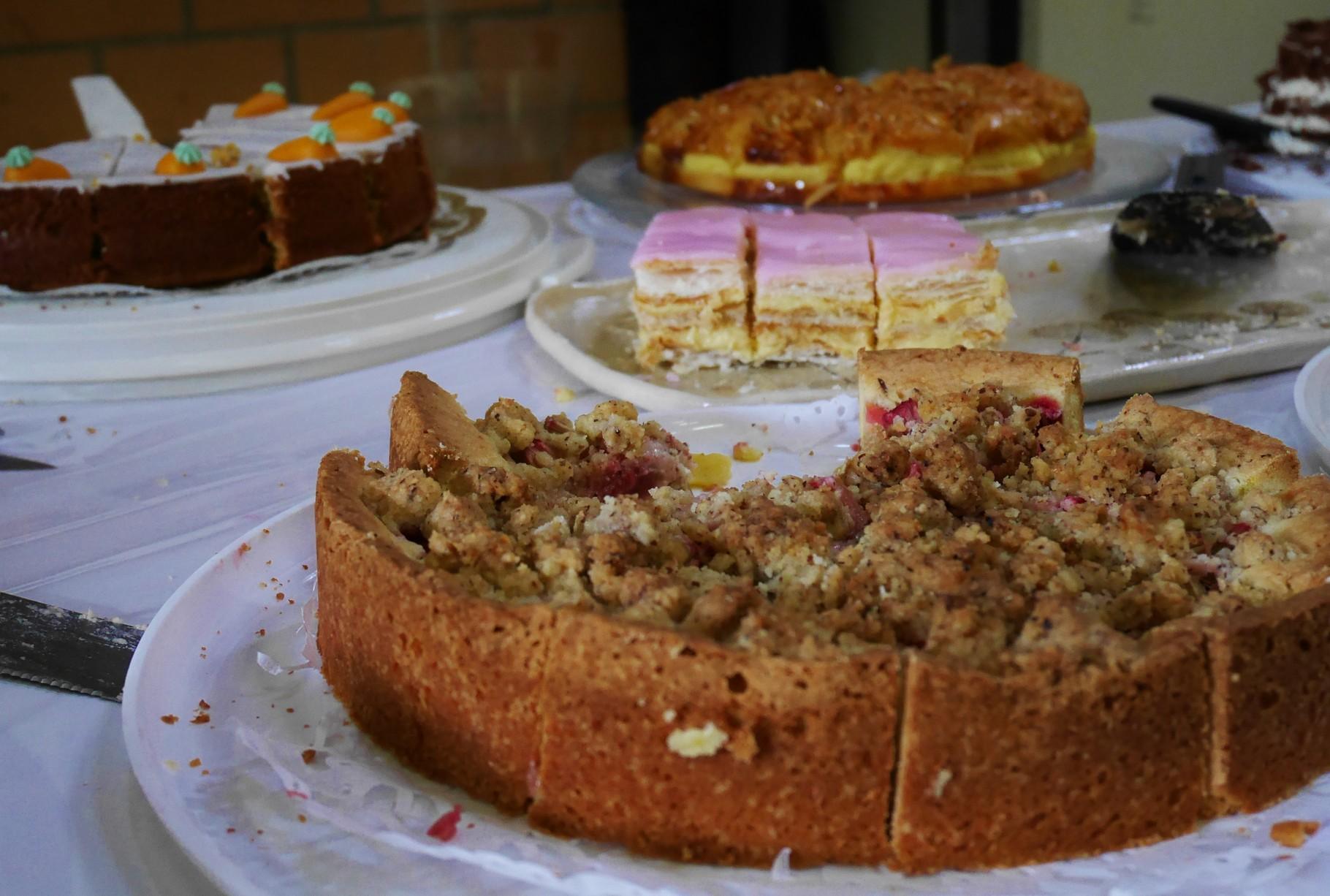 Die feinen Kuchen der Landfrauen fanden Anklang