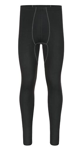 VINZ silkwear Sportbasic Herren Lange Unterziehhose. Baselayer aus reiner Bio-Seide. Lange Unterhose Stan.