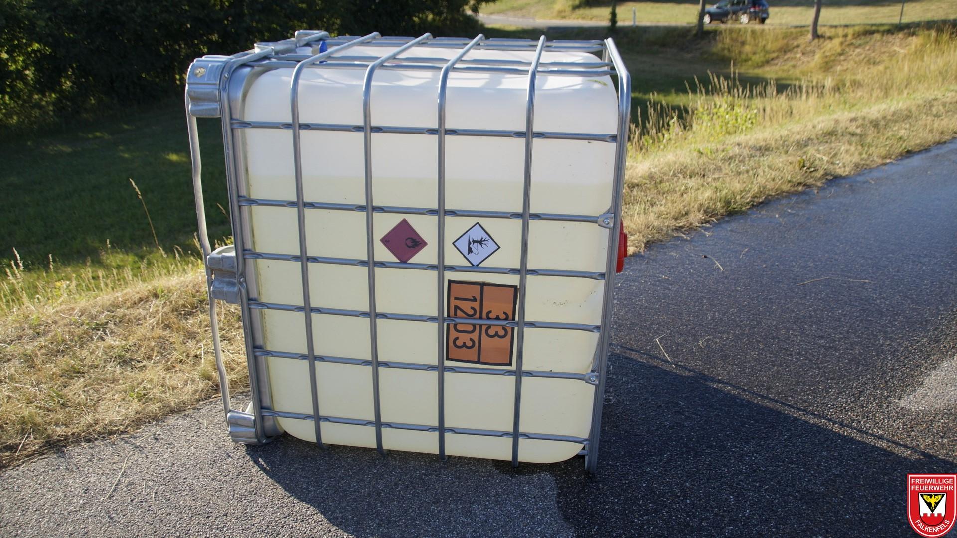 Transportkennzeichnung des Gefahrstoffes