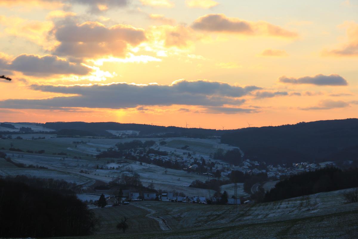 Impressionen Winter in Herschweiler-Pettersheim
