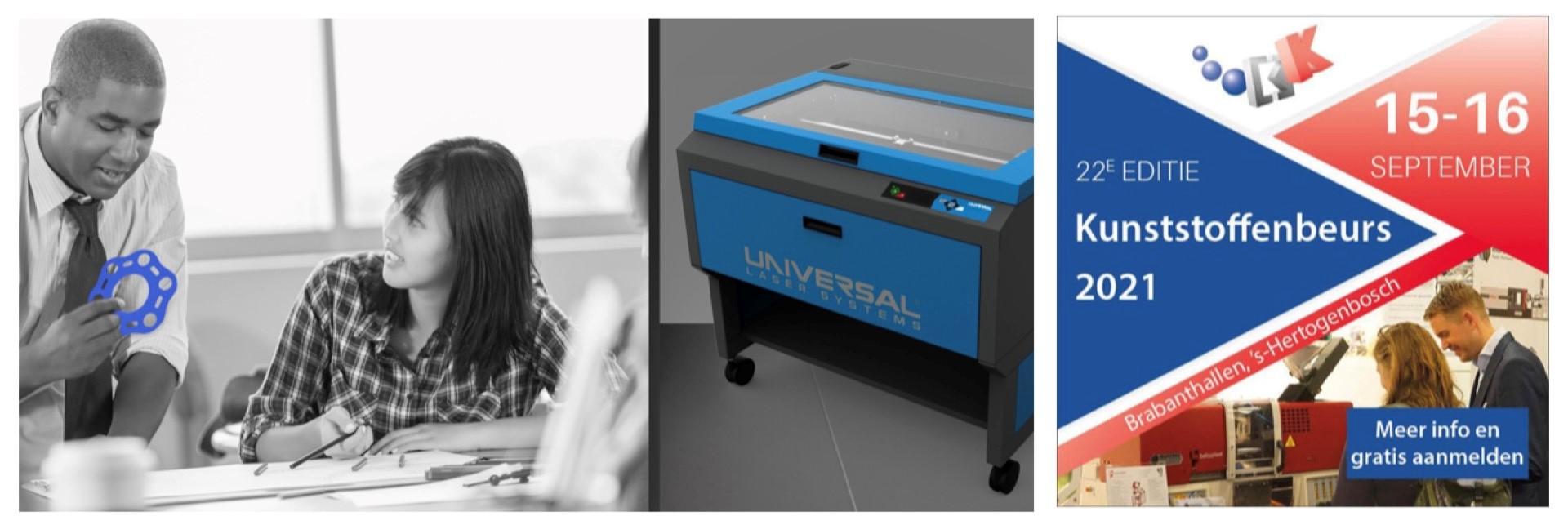 Widenhorn voor het eerst met Lasersystemen op Kunststoffenbeurs 2021