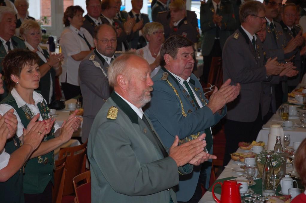 Otto Heinsohn und Rolf Stehno (Kreisvorstand) (Foto: J. Bauer)