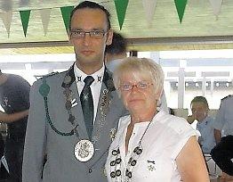 Das neue Kaiserpaar bilden Gerda Pramor-Wolderich und Lars Robohm.