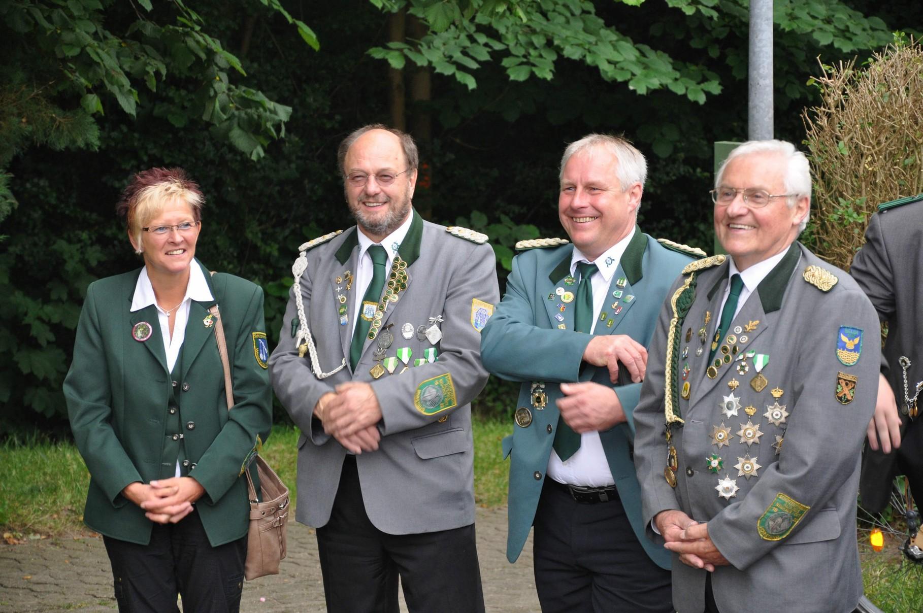 Die Anwesenden Vorstandsmitglieder des Kreisverbndes