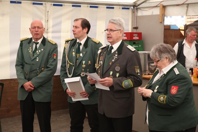 Ansprache zur Ehrung von Schützenschwster Rosi Köhler....