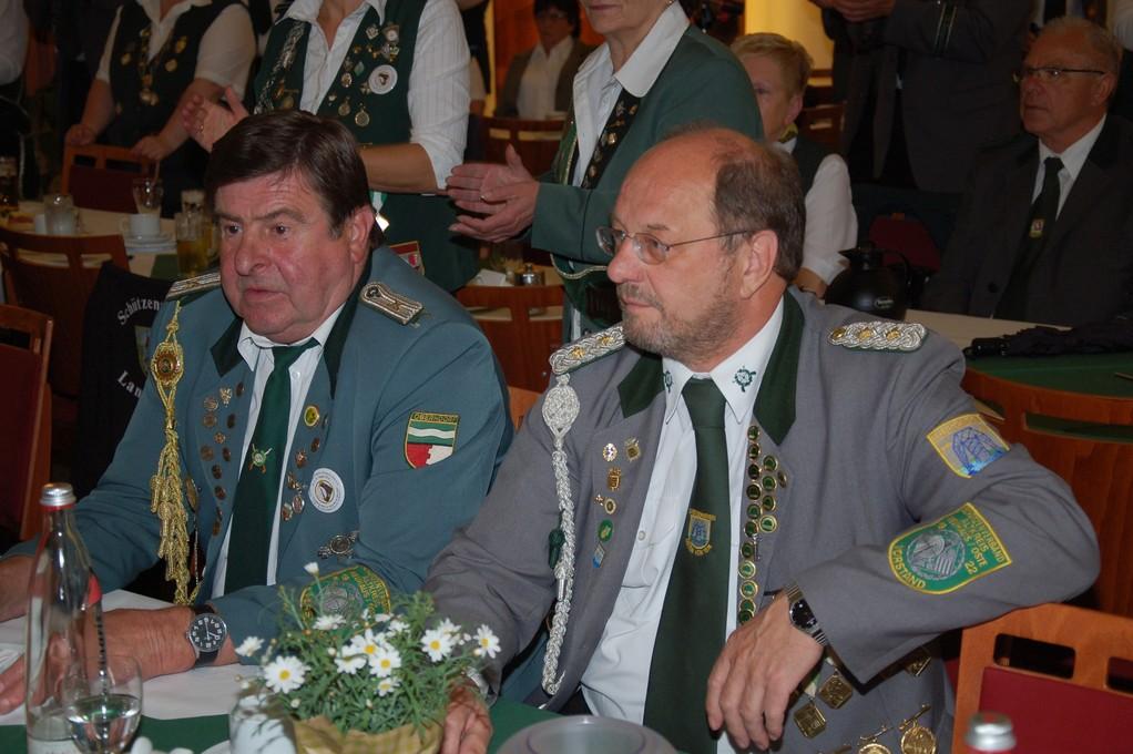 Rolf Stehno und Wilfried Röndigs (Foto: J. Bauer)
