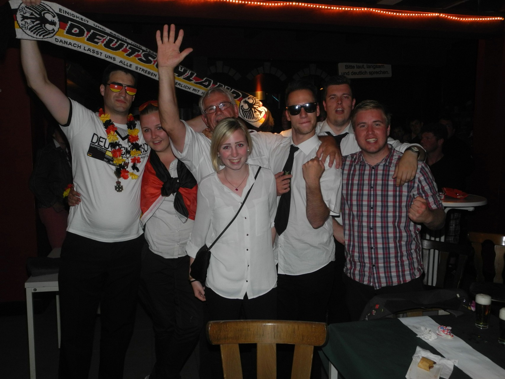 Alle Beteiligten wollten gerne einen WM-Sieg feiern