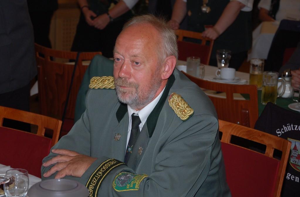 Kreisschützenmeister Otto Heinsohn  (Foto J. Bauer)