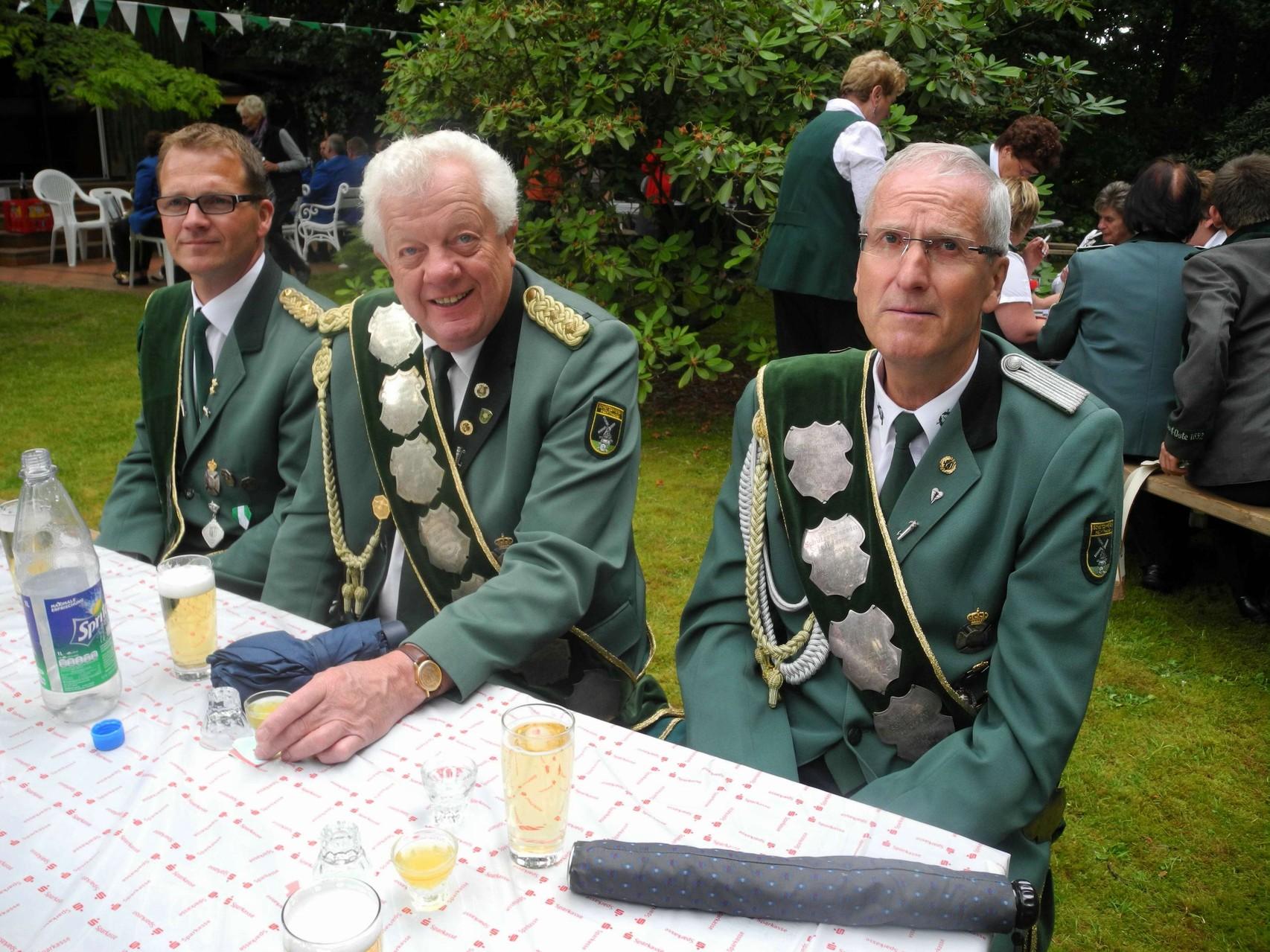 Bannerträger aus Hechthausen