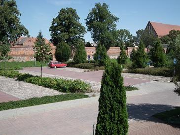 Parkplatz an der Stadtmauer