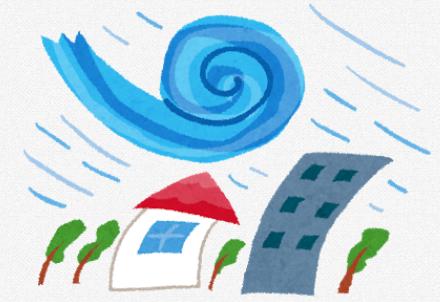 2021年春一番と台風1号