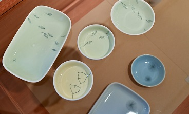 Porzellan -schalen von Doris Winkler