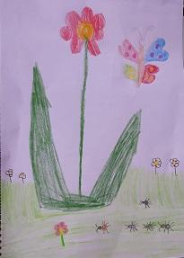 Frühlingsbild von Sinziana, KIDS