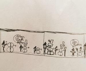 Comic von Maxi D. , im Lockdown entstanden
