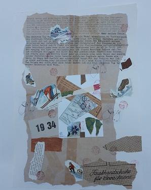 Collage Brief 1934 Teil 2