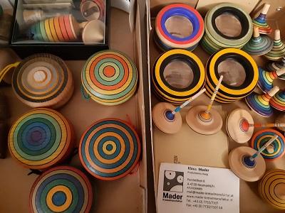 Kreiseln und Spielzeug von Kreiselmanufaktur Klaus Mader