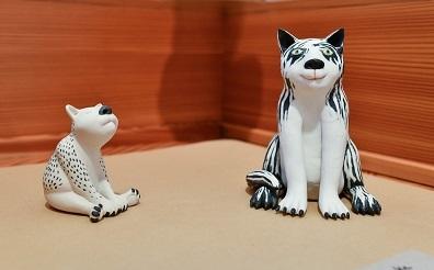 2 Katzen, von Margit Russnig