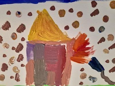 ...ein brennendes Haus von Emilia, Gruppe Kids