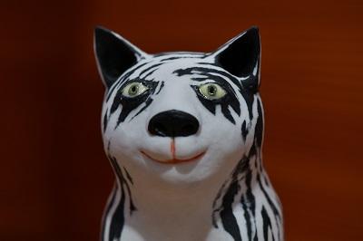 Katze von Margit Russnig, Detail