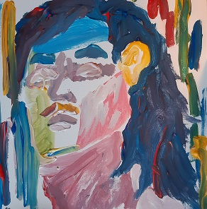 Porträt von Marlene N., Malakademie Jugend , März 2021