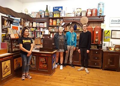 Besuch mit der Malakademiegruppe ins Stadtuseum Waidhofen /Thaya