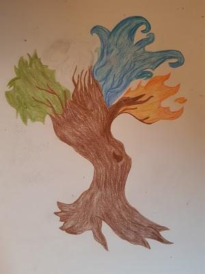 Baum von Sahra , Malakademie Jugend