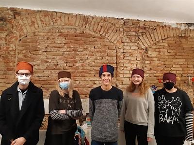 Teil der Gruppe Jugend im Malakademieraum