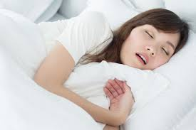 寝ている間は鼻呼吸で!