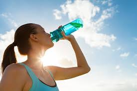 水分補給は運動の20分前に!
