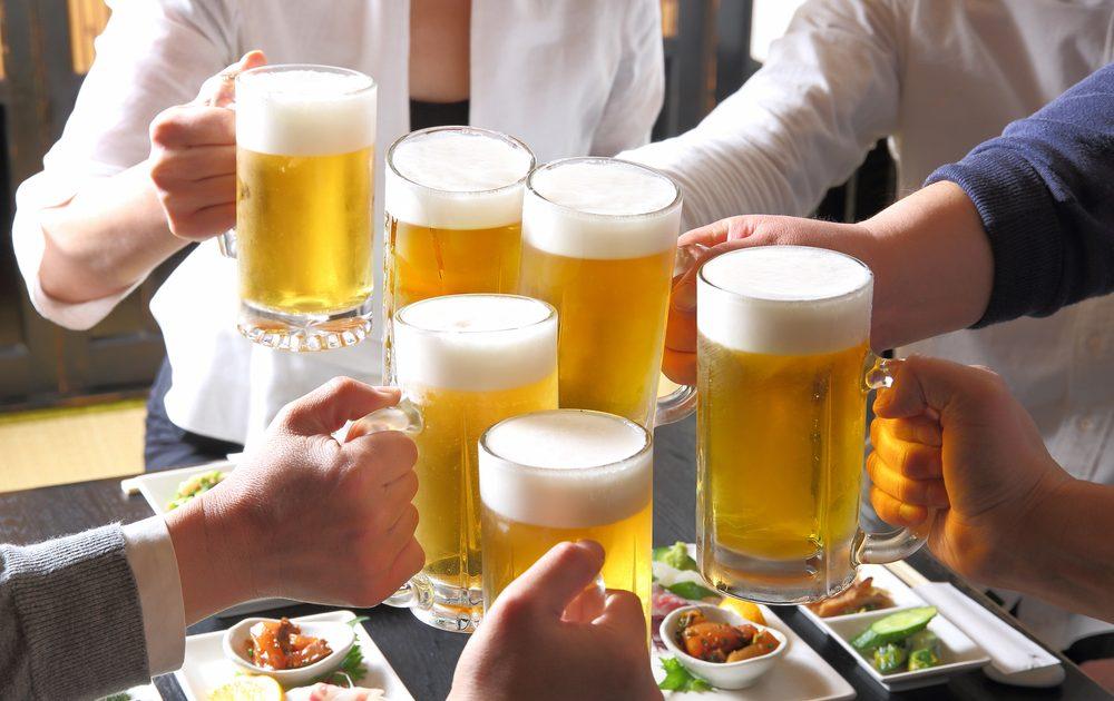 お酒は食欲が増進される