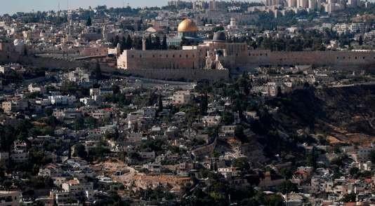La mosquée Al-Aqsa, à Jérusalem-Est. AHMAD GHARABLI / AFP