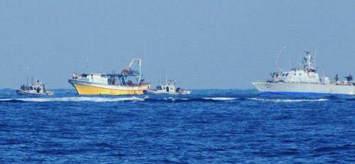 """Le harcèlement des """"frelons israéliens"""" se transforme souvent en acte de piraterie..."""
