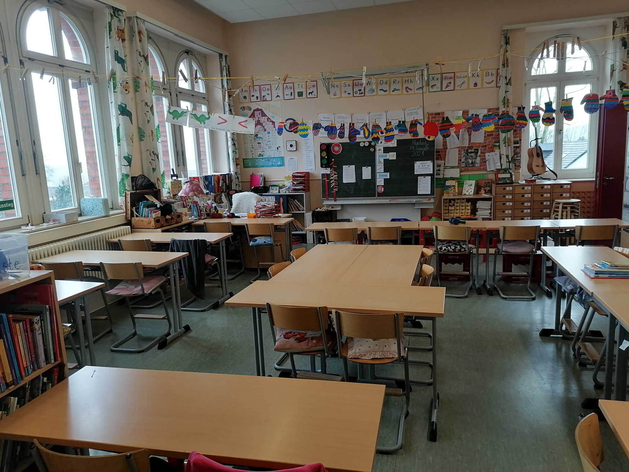 Klassenraum Altbau Obergeschoss