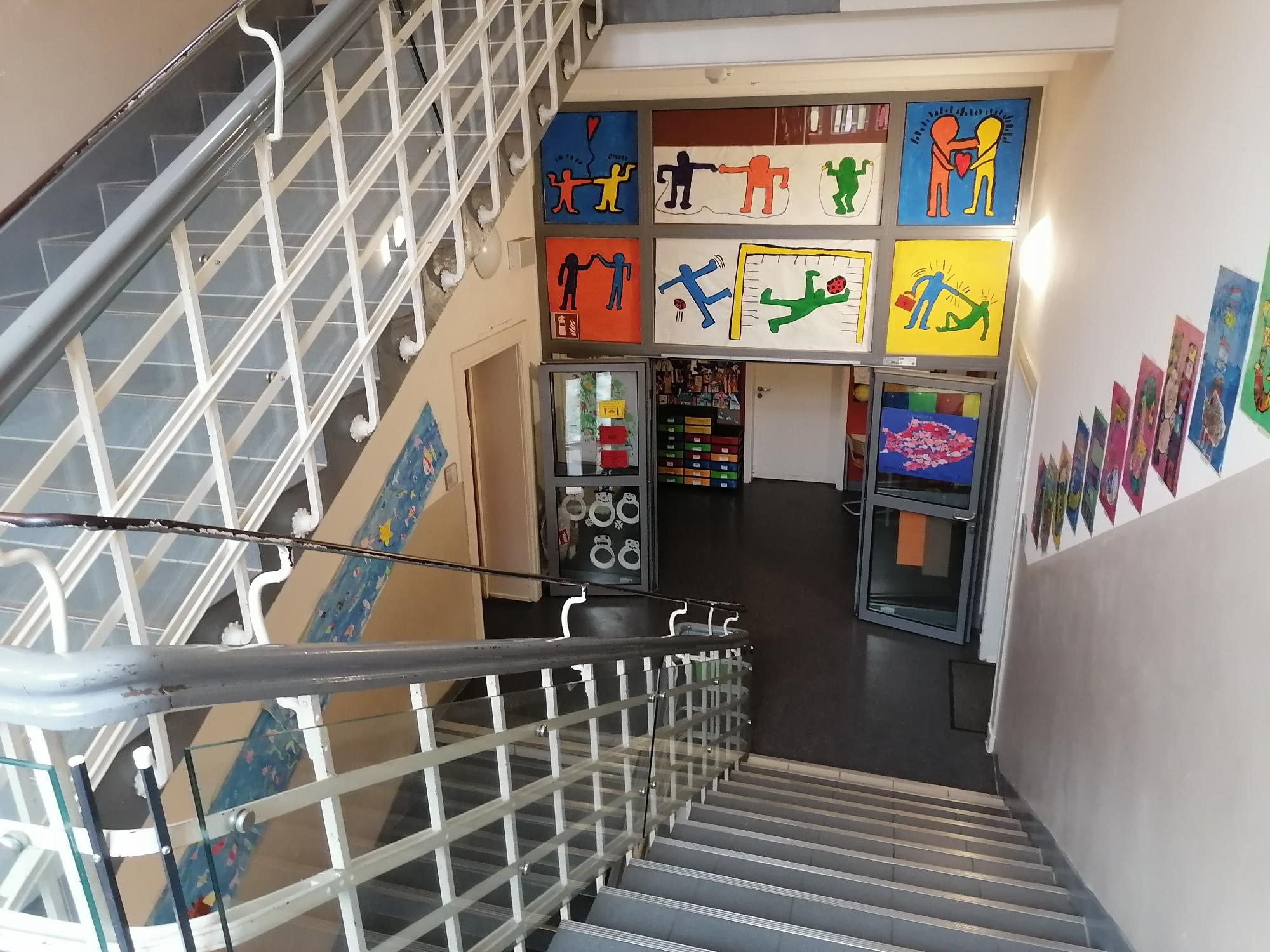 Treppenhaus Altbau 1. Etage