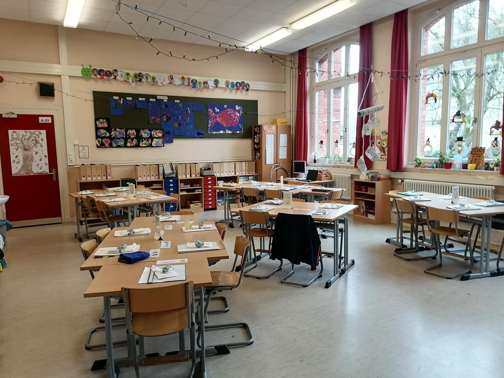 Klassenraum Altbau 1. Etage