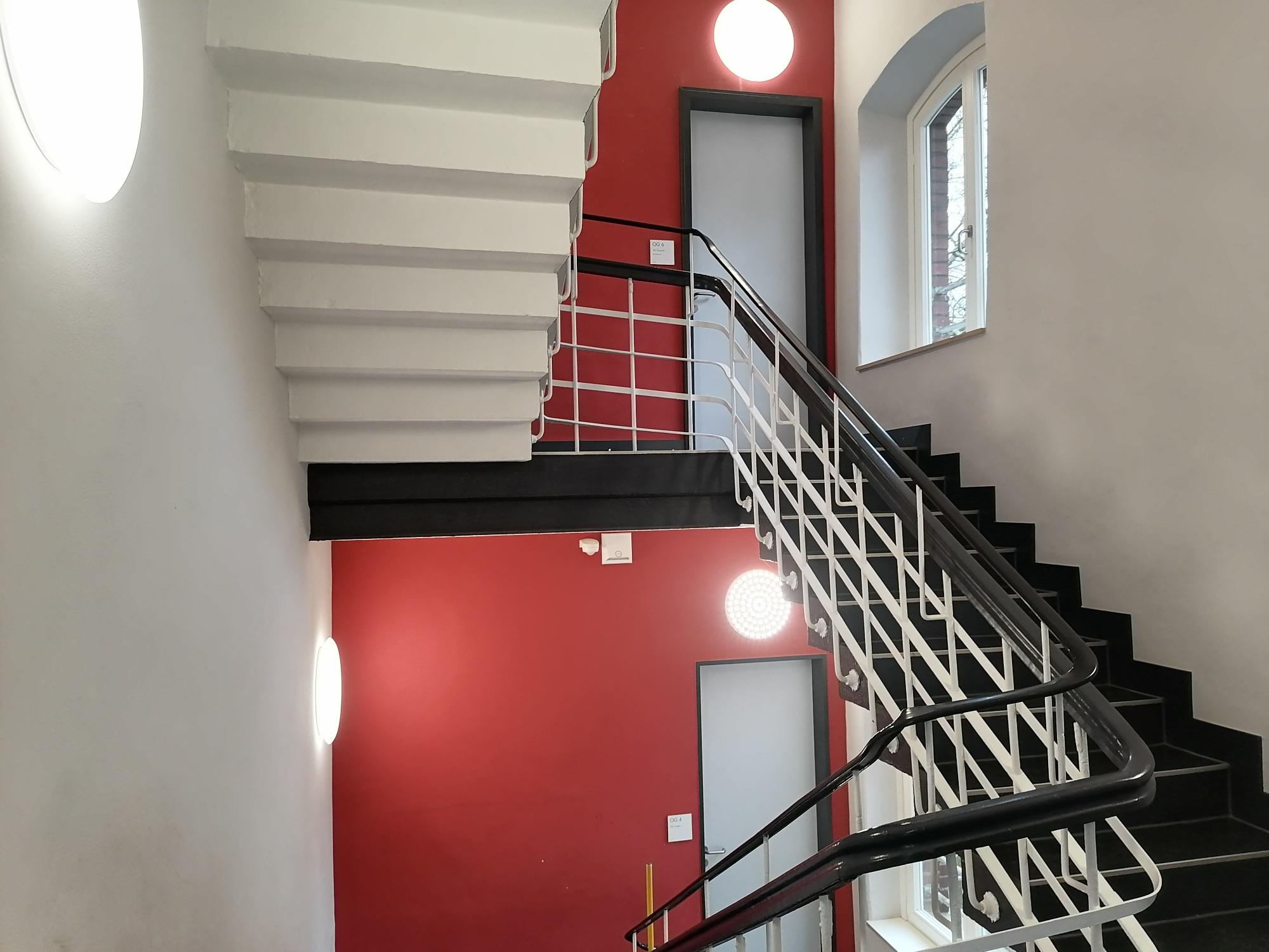 Treppenhaus Kyffhäuserstr. 98