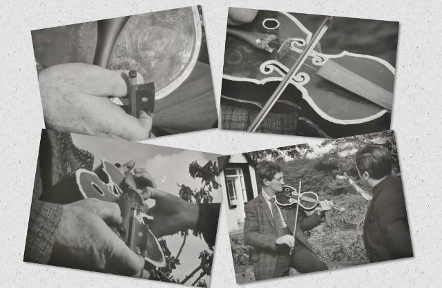 手作り バイオリン 金属製