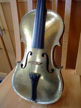 金属製 バイオリン フィドル ブラス素材