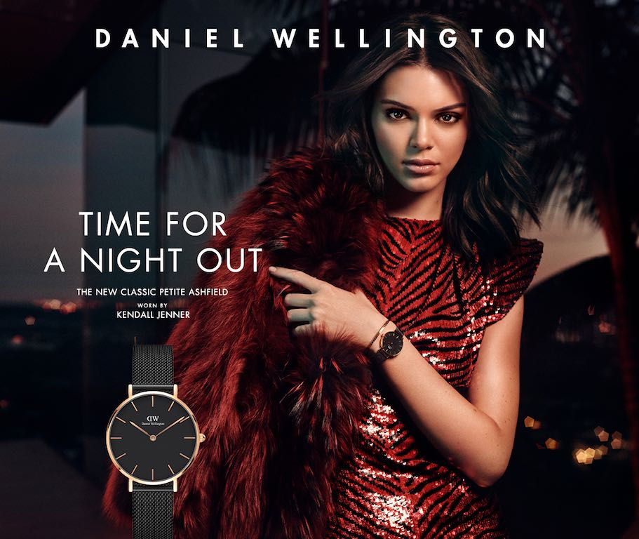 Daniel Wellington classic petite ashfield Damen Armbanduhr