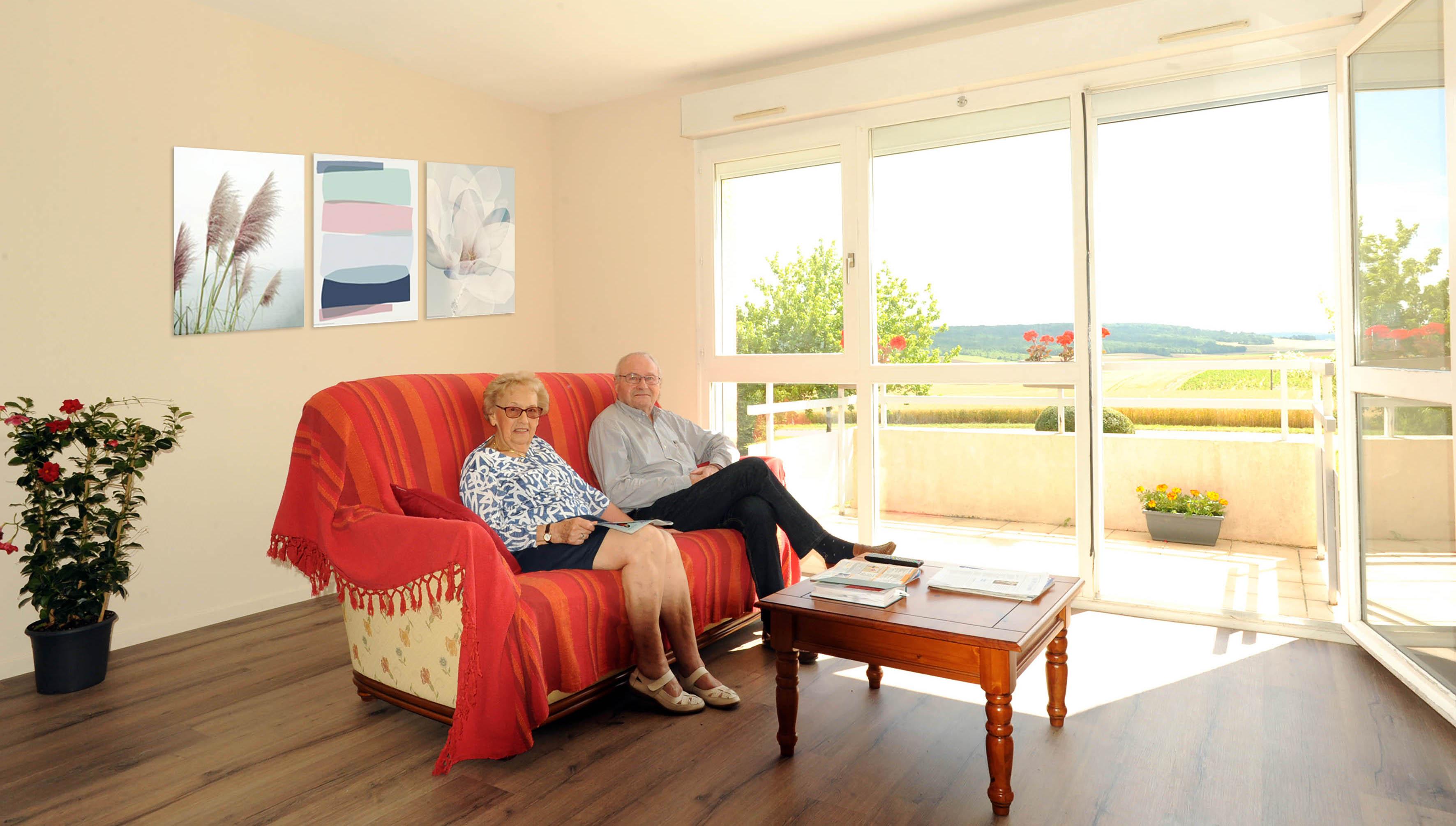 Hébergement temporaire pour seniors à la Résidence Jasmin