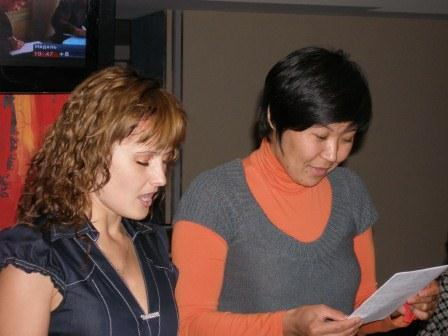 2009, репетиция выступления