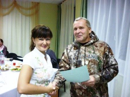 2011, вручение дипломов (А.П.Чудинов)