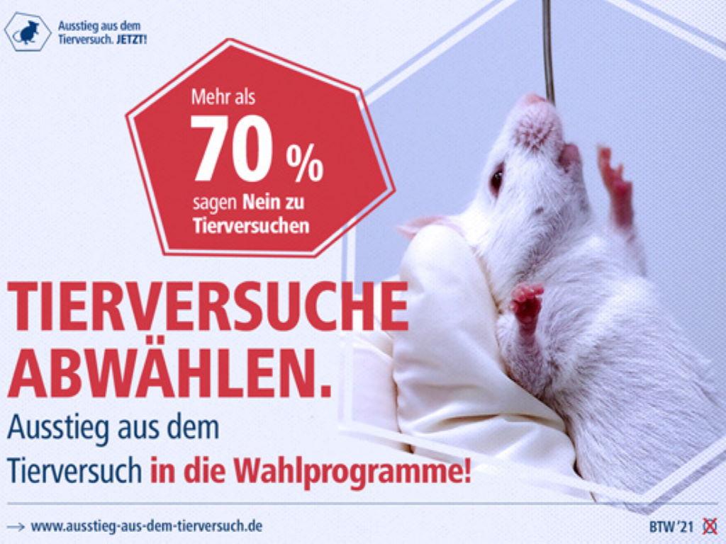 """Pressemitteilung - Straßenaktion am """"Internationalen Tag zur Abschaffung der Tierversuche"""""""