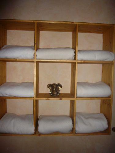 Regal für unsere Decken