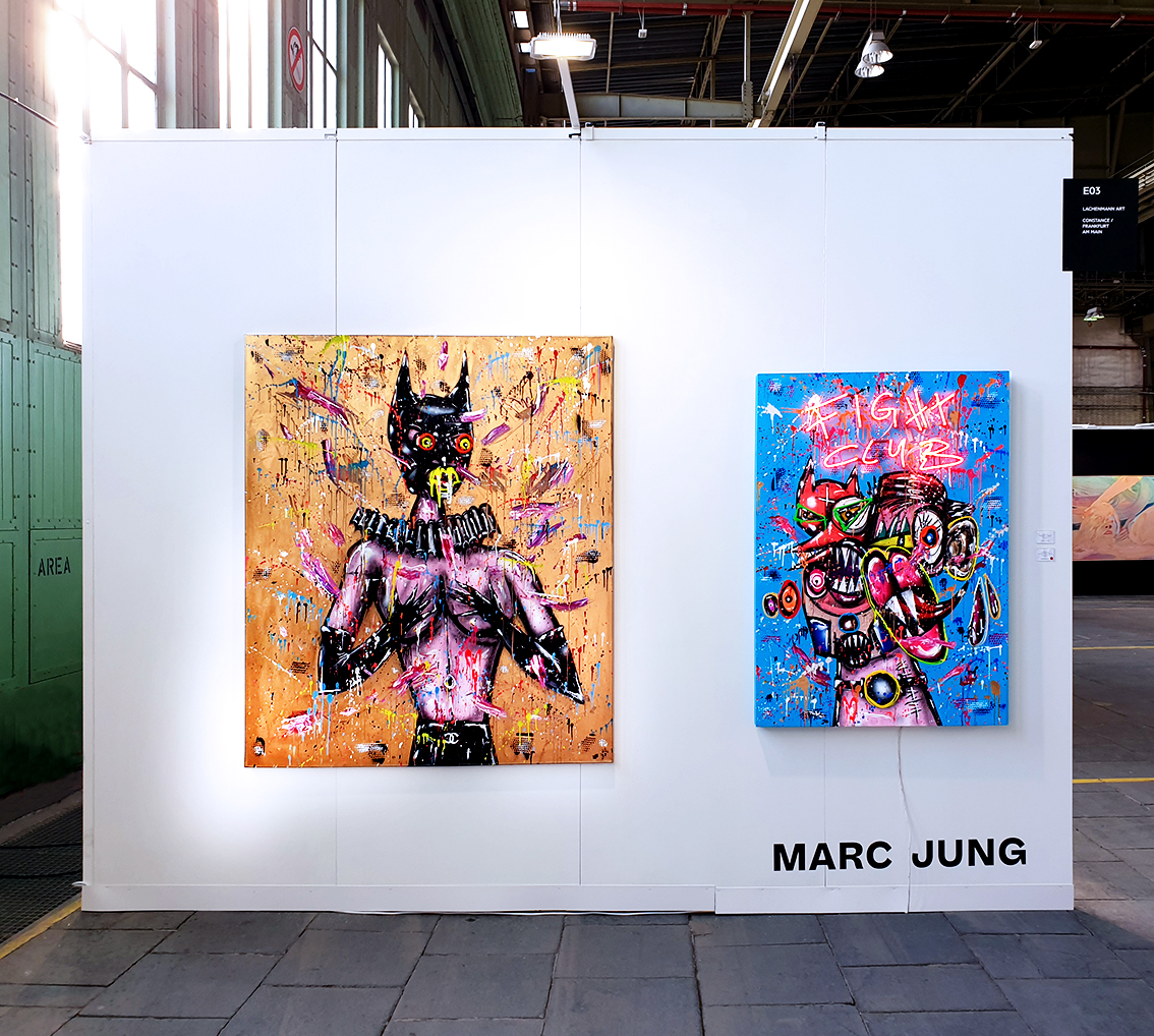 """POSITIONS BERLIN"", 2020, Galerie Lachenmann Arts, Tempelhof Berlin"
