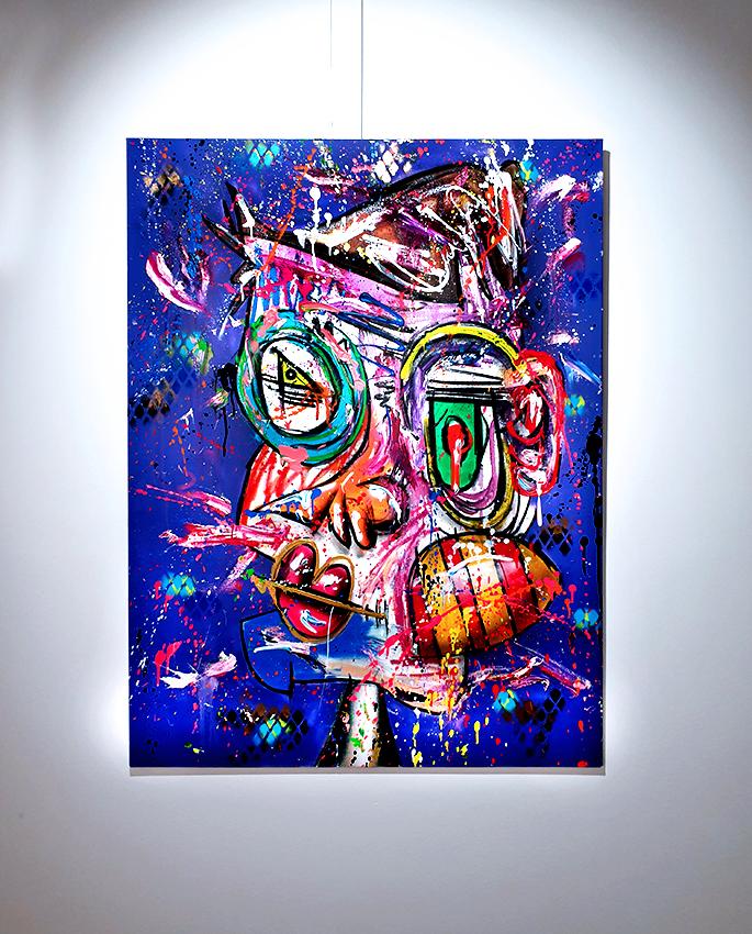 TORETTE DEL MAR, 2018, mixed media on canvas, 120x90cm