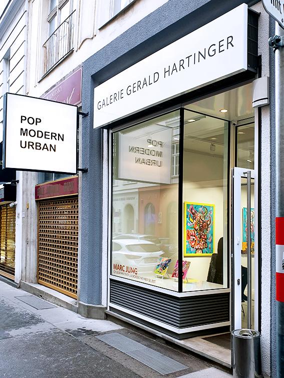 """""""ICH LEIDE AN EINER ÜBERDOSIS MEINER SELBST"""", 2020, Galerie Gerald Hartinger, Wien (Austria)"""